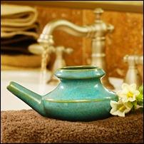 Очищение носа и носоглотки промыванием