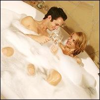 ванна вместе с любимым
