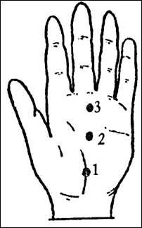 Массаж рук шиацу