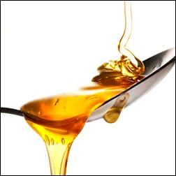 Ложка с медом