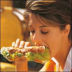 Сандвич после фитнеса