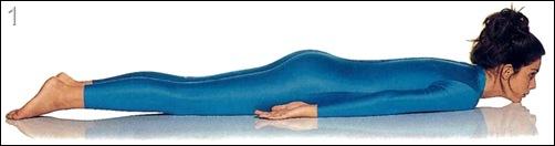 Упражнение йоги кобра для груди
