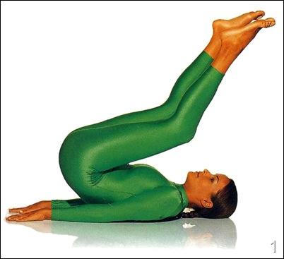 Березка упражнение йоги для пресса