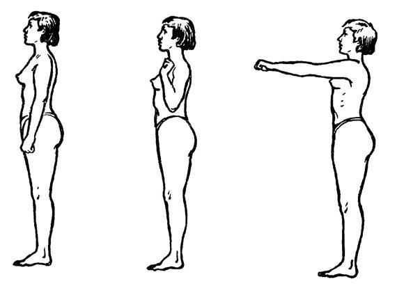 Упражнение для плеч и рук